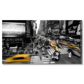 Αφίσα (πόλη, ζωή, γρήγορα, ταξί, αυτοκίνητα)
